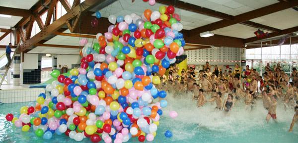 L cher de ballons le 5 mars 2014 for Piscine gravenchon