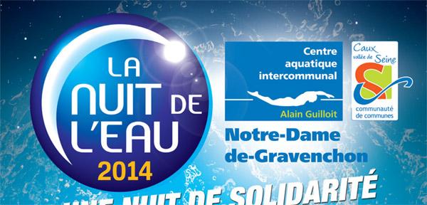 La nuit de l 39 eau le 22 mars 2014 for Piscine gravenchon