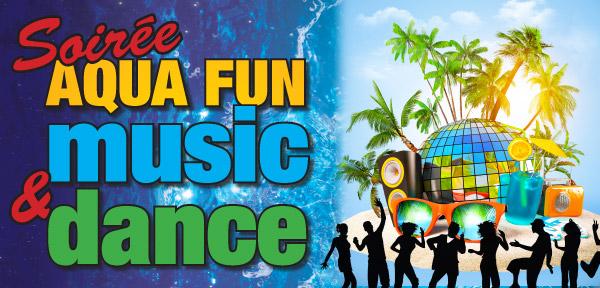 Soir e aqua fun music and dance le 19 avril for Piscine gravenchon