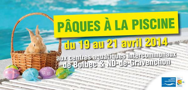 Chasses aux oeufs de p ques les 19 et 21 avril for Piscine gravenchon