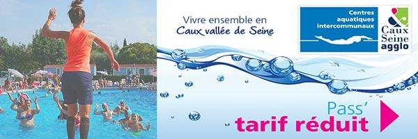 B1 Formules, pass et abonnements des piscines Caux Vallee de Seine