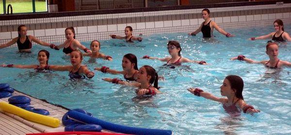 Samedi 11 mars s ance d aquagym la piscine de bolbec for Piscine gravenchon