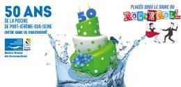 50 ans du centre aquatique de Notre-Dame-de-Gravencon, Port-Jérôme-sur-Seine le 12 mai 2017