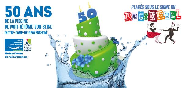 50 ans du centre aquatique de nd de gravenchon port for Piscine gravenchon